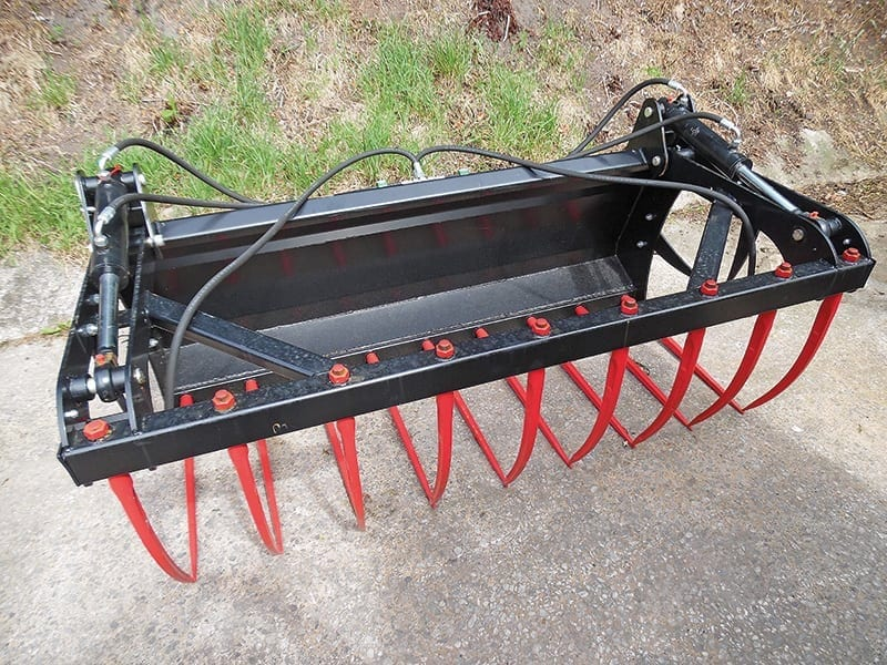 Muck Grab – 1.00m Single Ram (no brackets fitted) | P.O.A