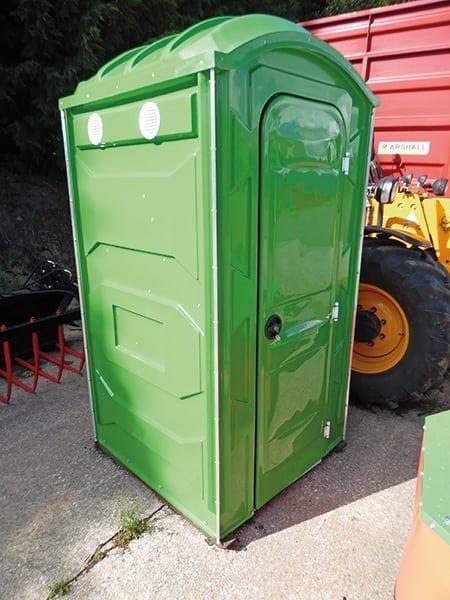 Flush Services Portable Toilet: SITE CHEMICAL TOILET (with Hand Flush : Pump Out)