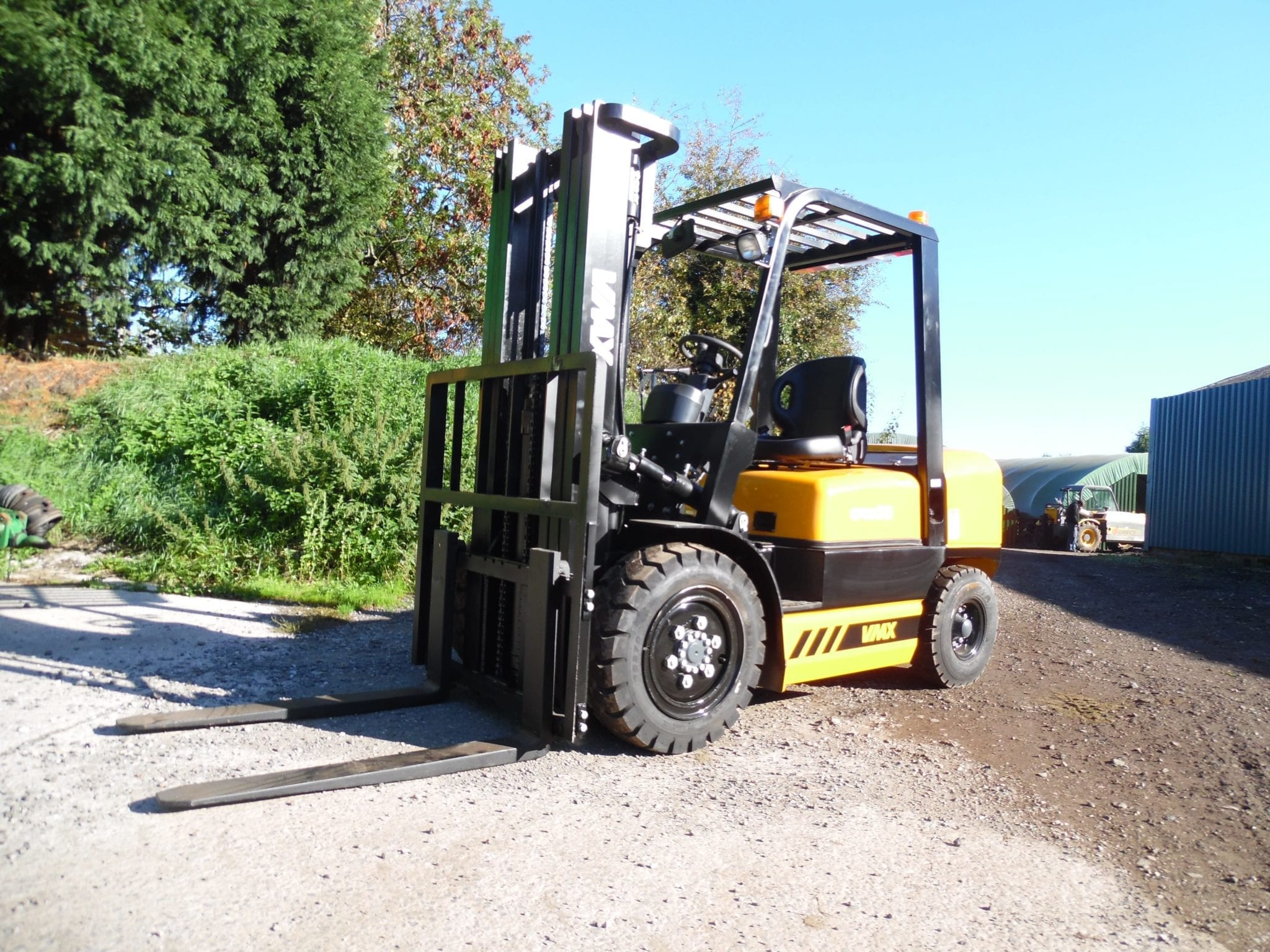 3 Tonne Diesel Fork Lift Truck with Side Shift