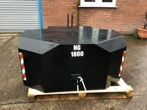 1800KG Front Tractor Weight