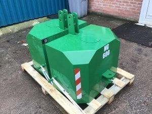 600KG Front Tractor Weight