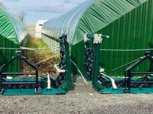 Mounted Chain Grass & Field Harrow / Meadow Paddock Regenerator 4.0m