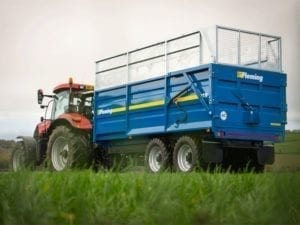Fleming TR14 Silage Trailer